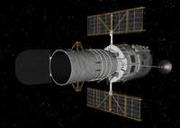 hubble telescope c4d