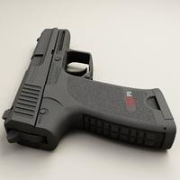 3d model pistols v2