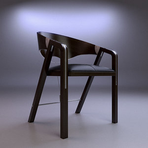 free silla spinnacker chair 3d model