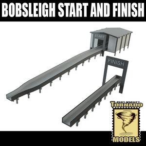 lightwave bobsleigh start finish
