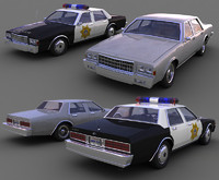 Chevrolet caprice (max & 3ds versions)