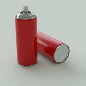 aerosol 3d model