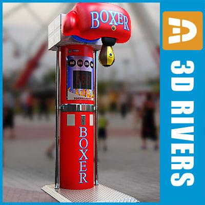 3d boxing machine