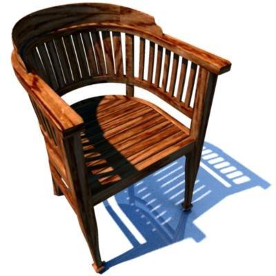 3d chair mtl