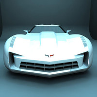 3d 2012 corvette stingray