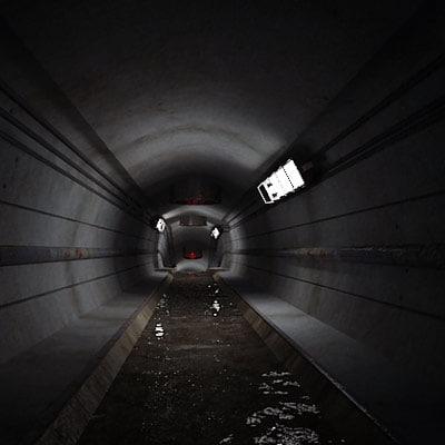 3d model sewer scene