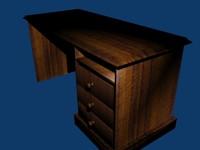 3d model of desk