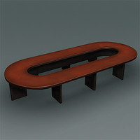Ellipse Conference Table