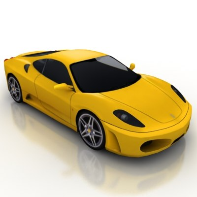3d model of vehicle car