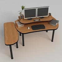 pc office table max