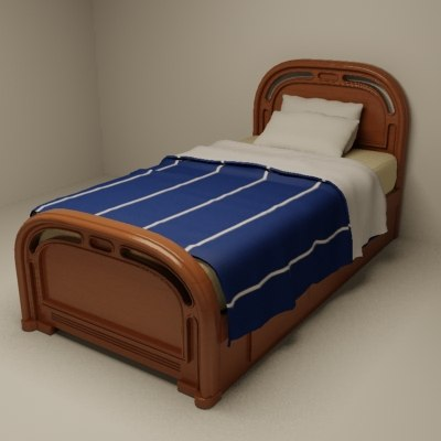 max twin size bed