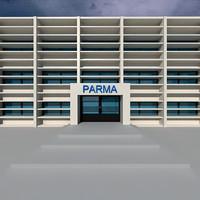 building parma 3d max