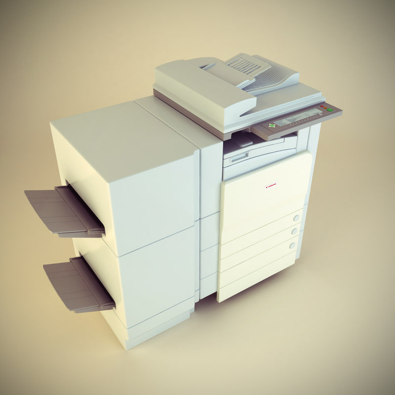 3d office photocopier