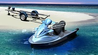 3d personal trailer jetski