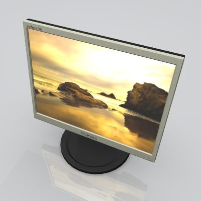 samsung syncmaster 720n 3d 3ds