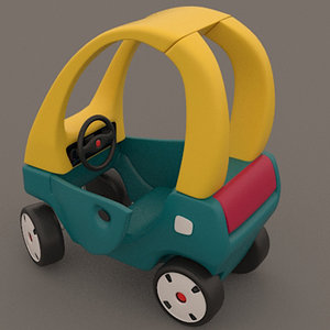 modeled toy car 3d 3ds