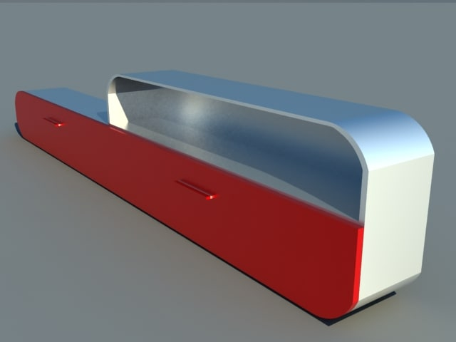 3ds max lcd tv table
