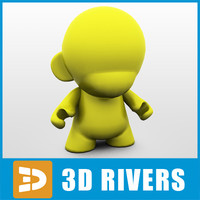 3ds max vinyl munny yellow