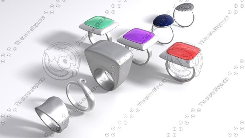 jewels 3d model