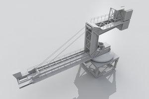 3d ship loader