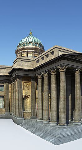 3ds max kazan cathedral