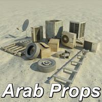Truax Studios Arab Street Props