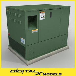 3d electrical box 4 model