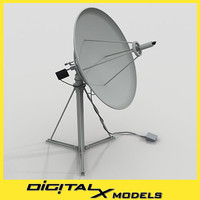 rooftop Satellite Dish - Medium