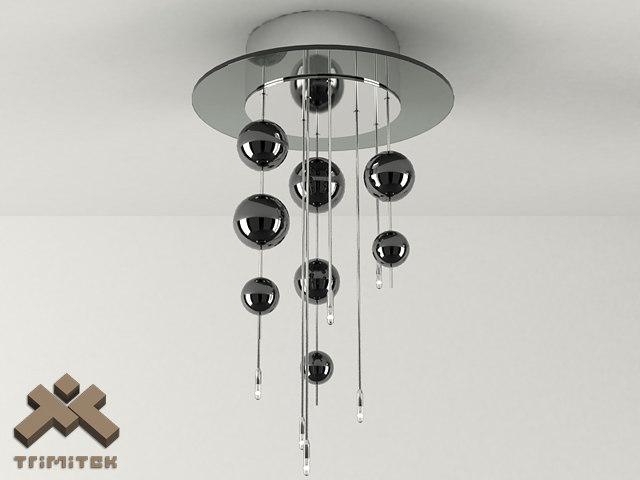 3d bubbles 6plp lamp