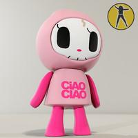 Ciao vinyl toy
