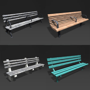 3d benches