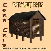 maya corn crib