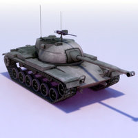 M47-Patton_MBT_3DModel