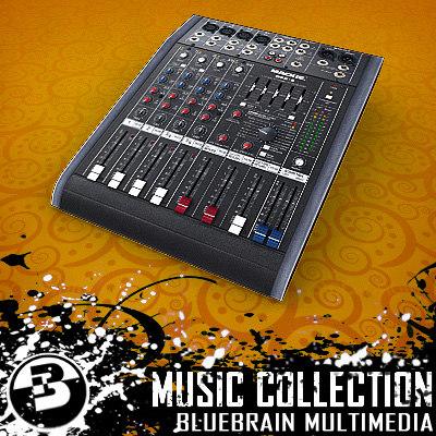 3d model mixer board