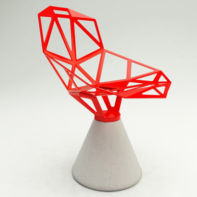 design chair 3ds