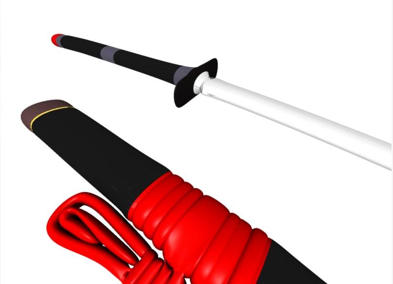 blend katana samurai sword