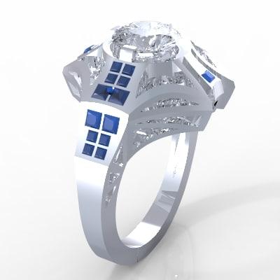 royal ring 3d model