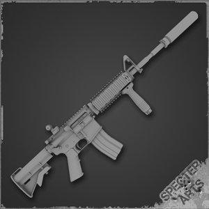 m4a1 carbine sopmod block 3ds
