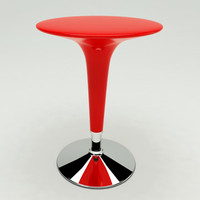 bombo bar table design c4d