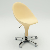 3d model of bombo chair swivel