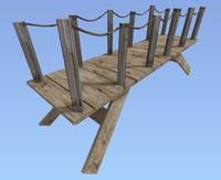 3d small bridge model