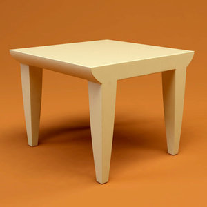 kartell bubble club table 3d 3ds