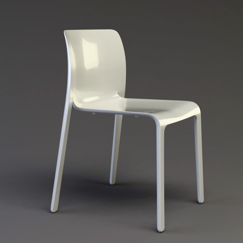 3d Model Chair Stefano Magis