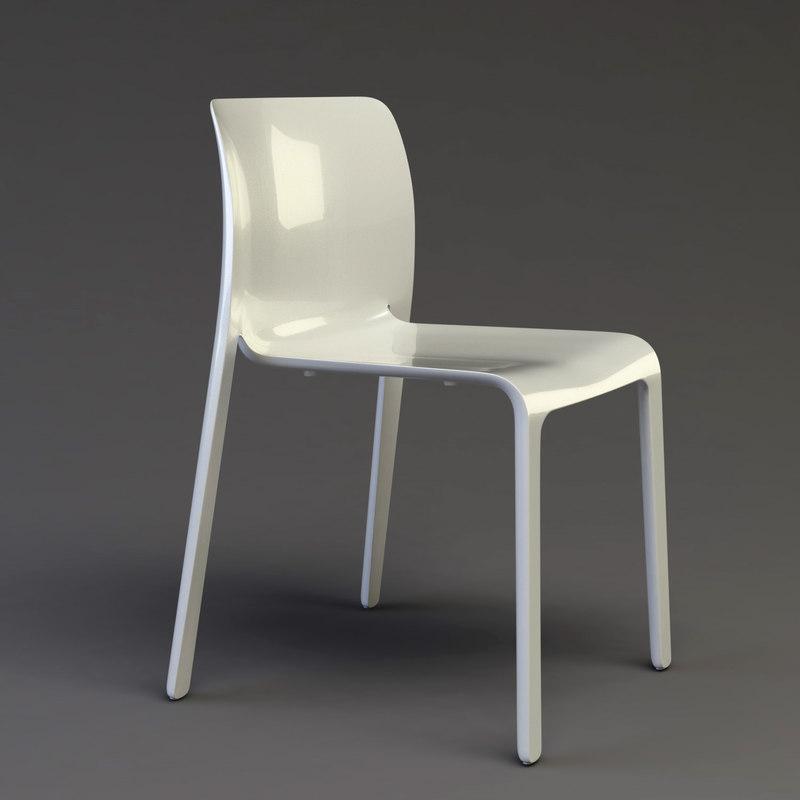 3d model chair stefano magis