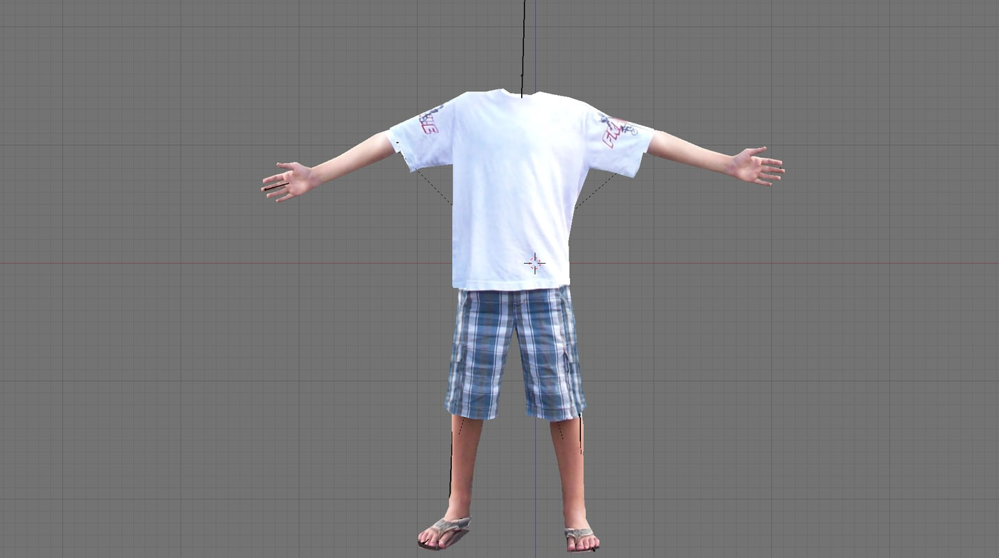body headless 3d model