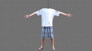 body headless 3d model