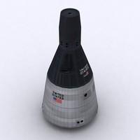 gemini space capsule max