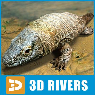 3ds max ichthyostega prehistoric fish