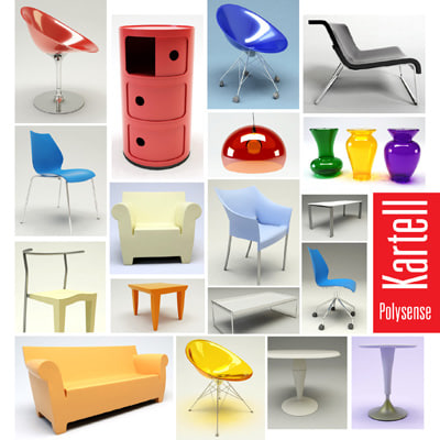 3ds max kartell prince aha