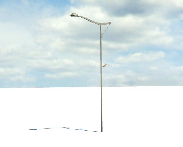 maya parisien lamppost